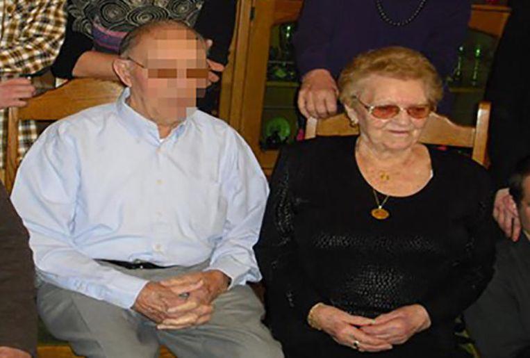 Jos Annemans en Jeanneke Van den Bossche, allebei 90 jaar.