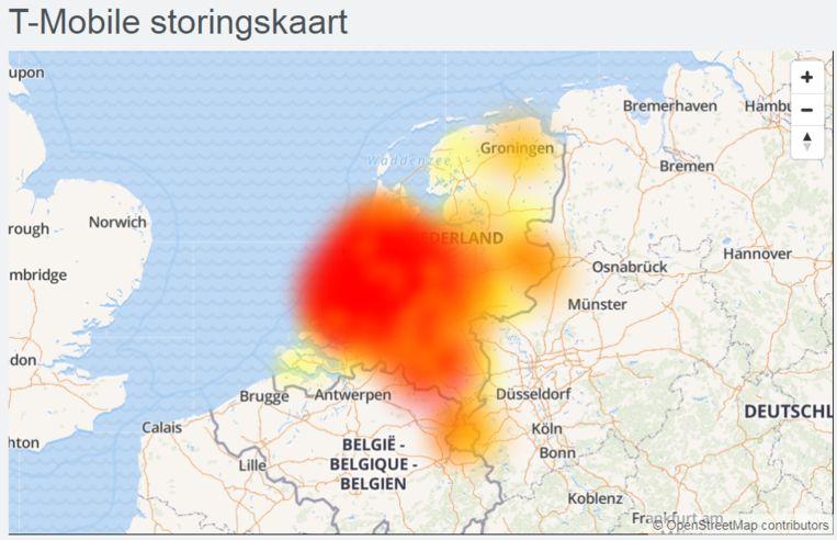 Storing T-Mobile Beeld Allestoringen.nl