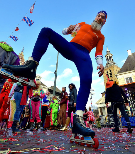 Tullepetaons Klûnen in Roosendaal: 'Wij rijden geen scheve schaats'