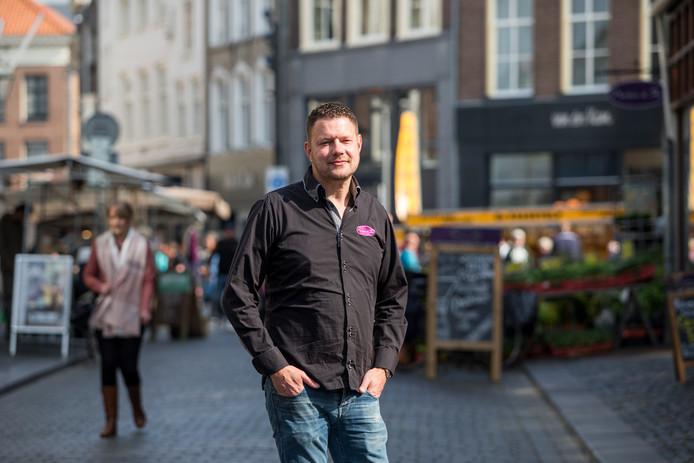 Martijn Droog, eigenaar van Noten & Zo is de nieuwe voorzitter van het binnenstadsplatform Zutphen, belangenbehartiger van Zutphense ondernemers.