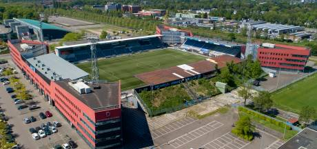 Stadion De Vliert als een lappendeken