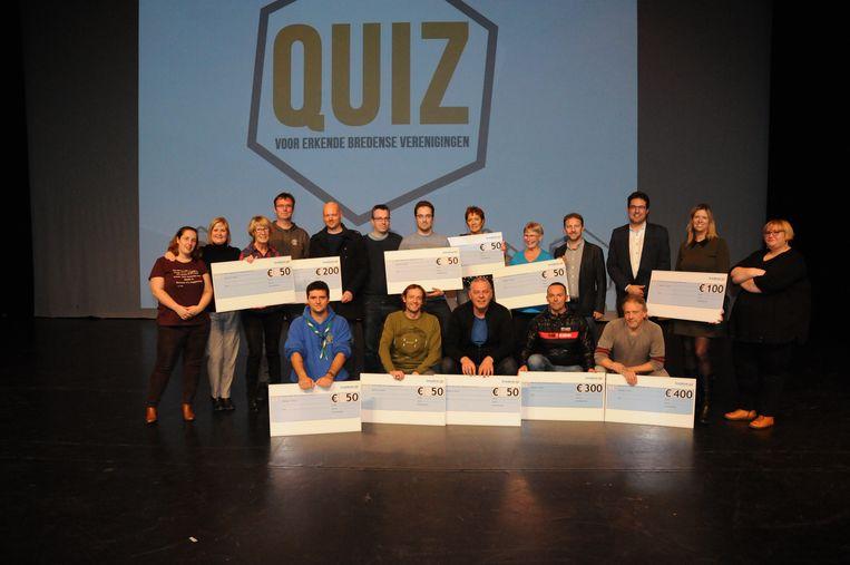Heemkring Ter Cuere wint quiz voor Bredense verenigingen