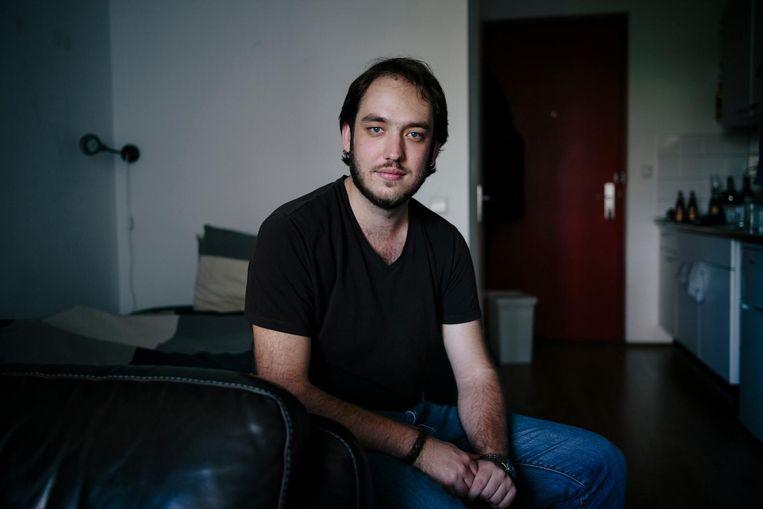 Huub Ramler (24): 'Ik vind de situatie zorgwekkend' Beeld Marc Driessen