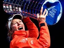 Carolijn Brouwer eerste vrouwelijke winnaar Volvo Ocean Race