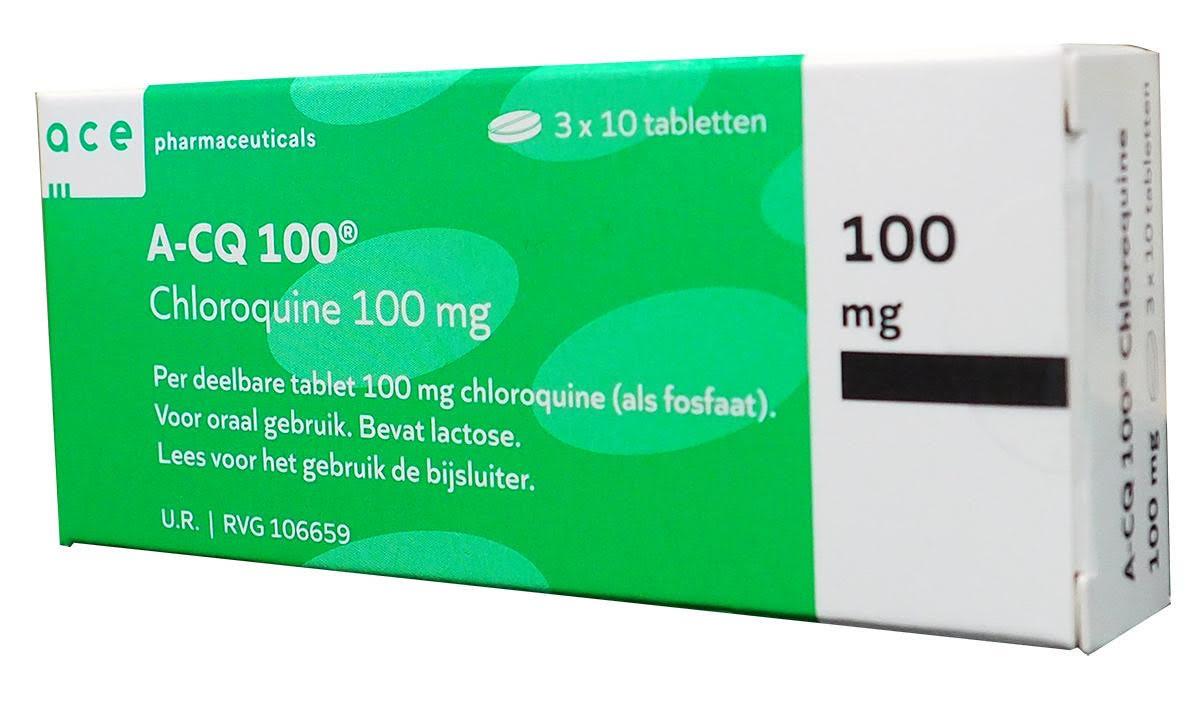 Het medicijn, chloroquine, zou koorts snel reduceren en de longfunctie verbeteren.