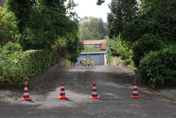 Onderzoek naar de garagebox in Oosterbeek.