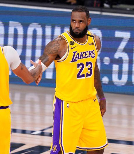 LA Lakers op drempel van eerste NBA Finals in tien jaar