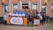 43 teams fietsen tegen kanker