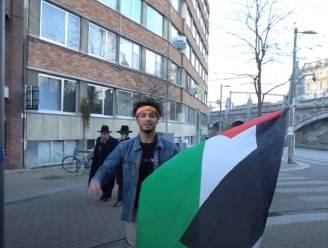 'Free Palestina' roepen in Joodse wijk? Antisemitisch gedrag, vindt Unia