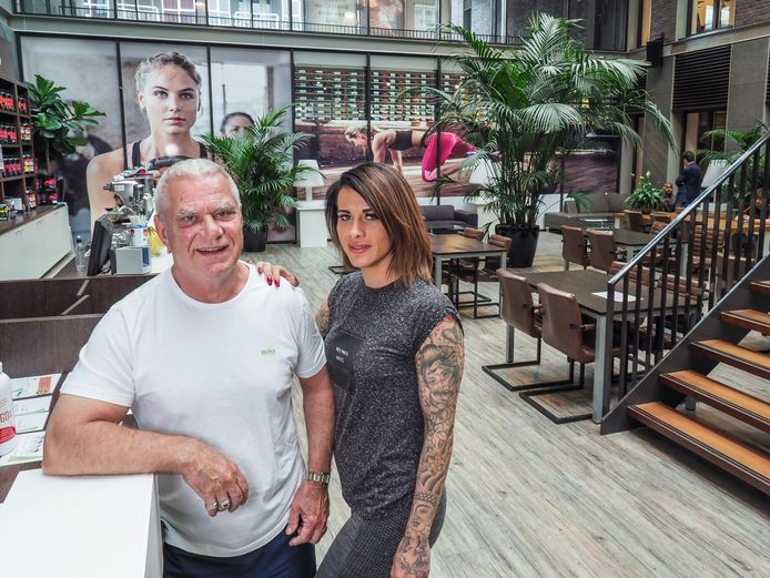 Harold Kneteman en dochter Denise.