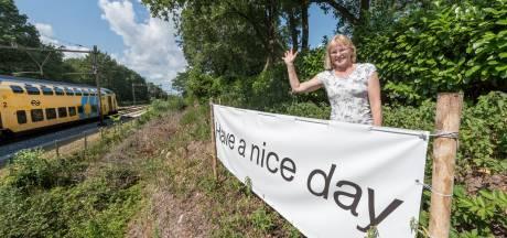 Loes uit Ermelo wenst miljoenen treinreizigers een prettige dag