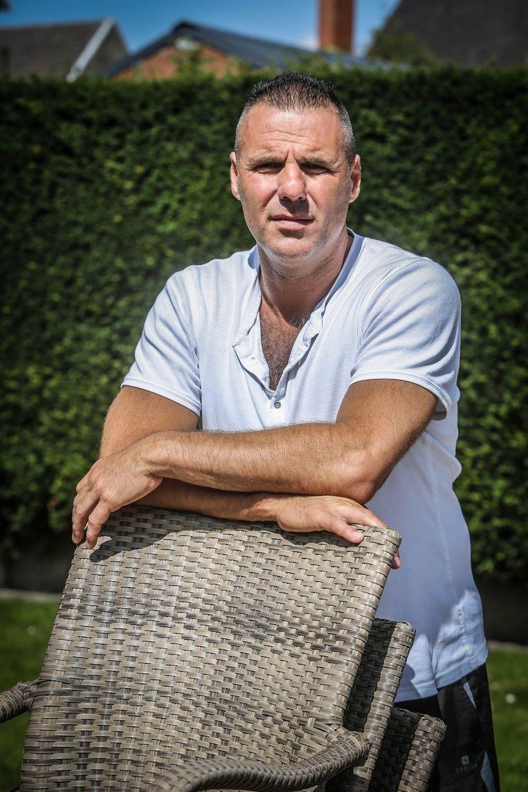 Slachtoffer Christophe Decoene kon zijn ogen niet geloven toen hij Kevin D. tegen het lijf liep in Menen.