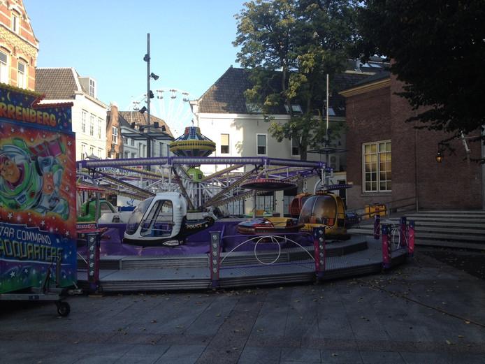 Op het Kerkpleintje staan dit jaar 'gewone' attracties.