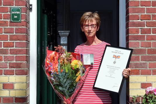 Maria Evers Lintjesregen 2020 Etten-Leur