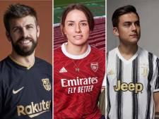 Welke club heeft komend seizoen de mooiste shirts?