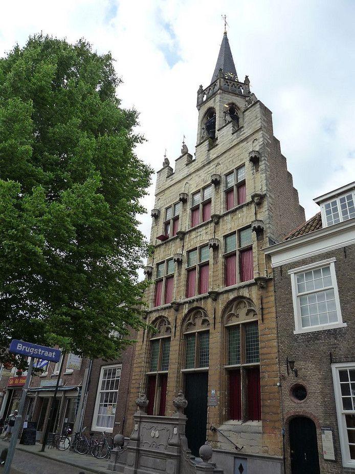 Het 15de eeuwse oude stadhuis Tholen, decor voor tien concerten in 2020.