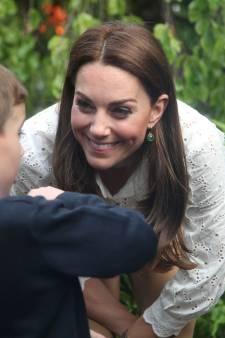 Urenlange rijen voor tuin hertogin Kate