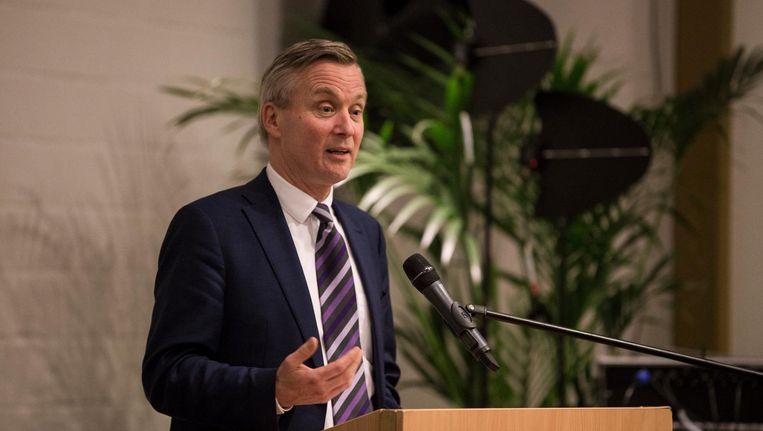 Loco-burgemeester Eric van der Burg Beeld Maarten Brante
