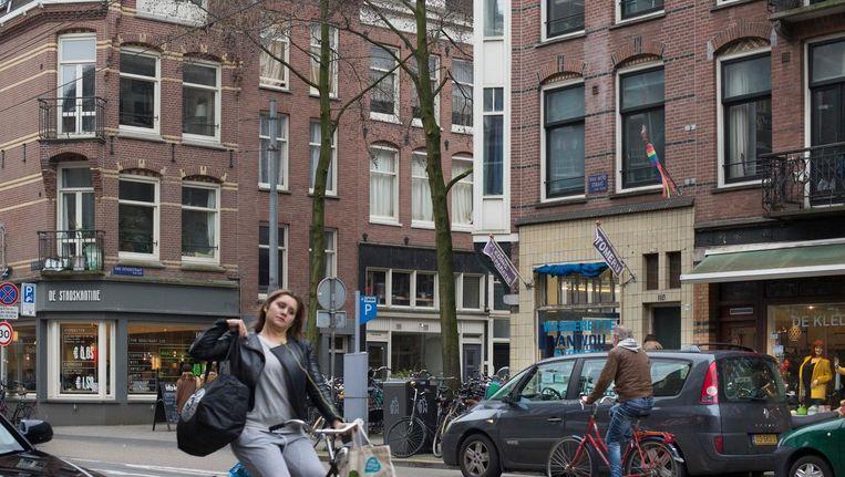 De herinrichting van de Van Woustraat. Beeld anp