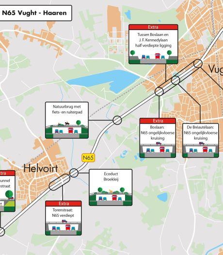 Plan voor rigoureuze ombouw N65 levert 130 zienswijzen op