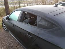 Inbraak in meerdere auto's op parkeerplaats langs A2 bij Leende