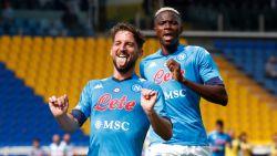 LIVE. Goal! Mertens breekt de ban voor Napoli na sterke invalbeurt van ex-Carolo Osimhen