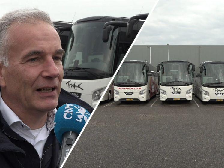 Bussen van De Baar en Leendertse staan al maanden stil