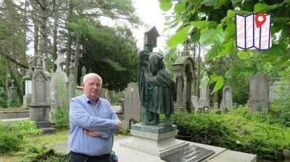 """Welkom op het Père Lachaise van Roeselare: """"Elke keer als ik op de oude stedelijke begraafplaats kom, ontdek ik iets nieuws"""""""