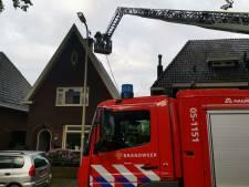 Schoorsteenbrand in woning in Hengelo