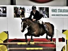 Pieter-Jan de Visser neemt risico's en wint op Jumping Indoor