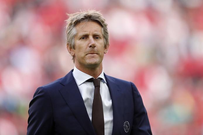 Algemeen directeur Edwin van der Sar van Ajax.