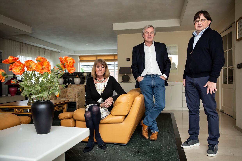 Familie Rob en Marianne Lammers en zoon Jasper.
