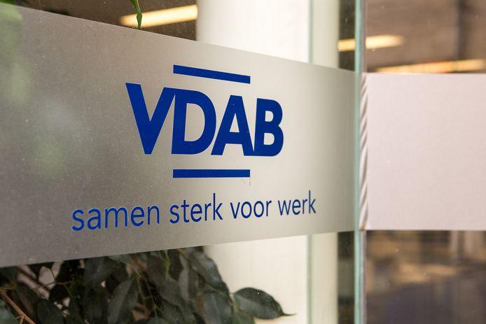 Het logo van de VDAB.