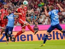 Bayern begint seizoen met moeizame winst op Leverkusen