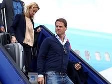 Frank de Boer vloog met selectie naar Zweden
