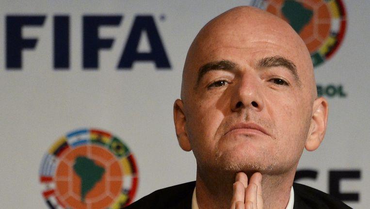Fifa-voorzitter Gianni Infantino. Beeld afp