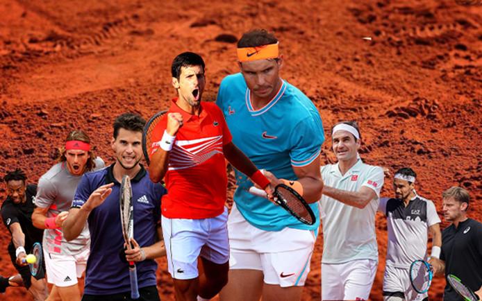 Les prétendants au titre à Roland-Garros 2019