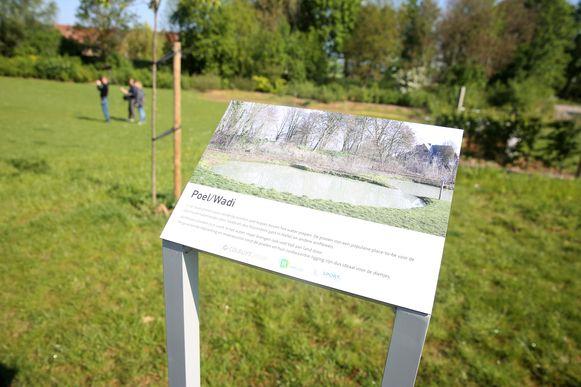Op de wandelroutes van Colruyt Group werden zelfs infoborden geplaatst bij interessante plekjes.