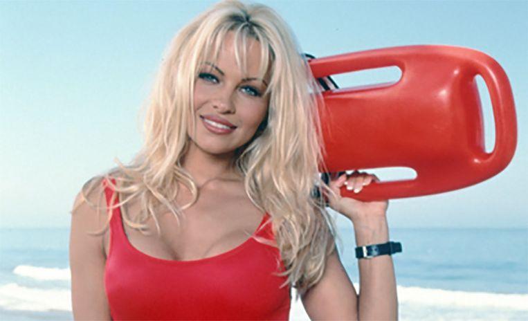 Pamela Anderson vertolkte in Baywatch de rol van redster C.J. Parker.