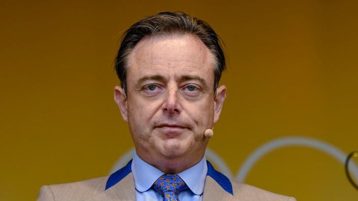 """Bart De Wever: """"Il faut contrer une domination rouge et verte depuis la Wallonie"""""""
