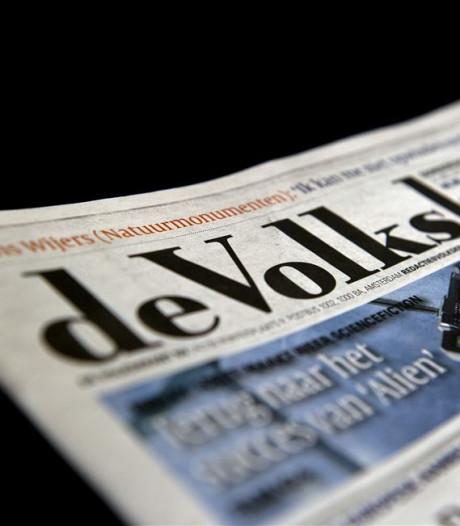 Remarque weg als hoofdredacteur Volkskrant