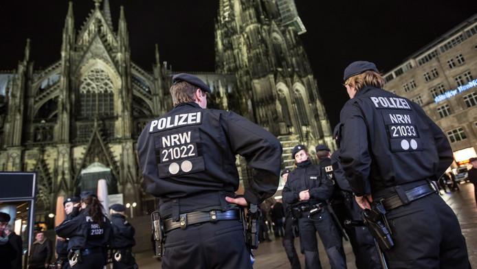 Archiefbeeld van de gebeurtenissen in Keulen