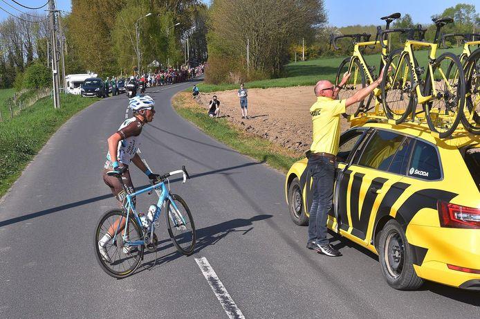 Oliver Naesen kampte met technische problemen