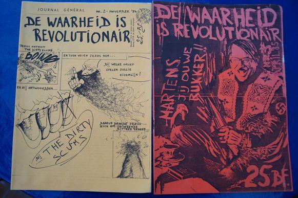 Een fanzine van Bart uit de jaren tachtig.