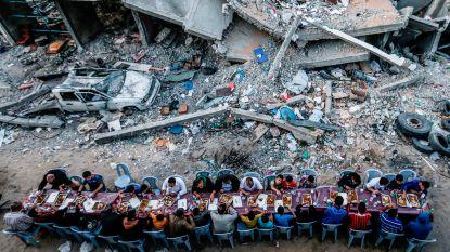 ETENSTIJD IN GAZA