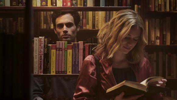 Penn Badgley als stalker in de Netflix-serie 'You'.