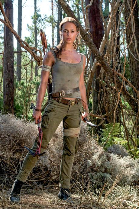 De nieuwe Lara Croft, afscheid van de superheldin