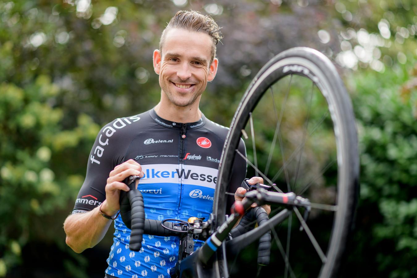 Peter Schulting, nu nog in het shirt van het clubteam VolkerWessels-Merckx.