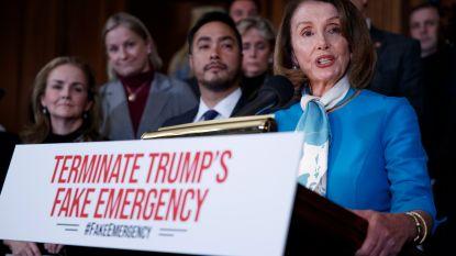 Huis van Afgevaardigden keurt motie tegen noodtoestand Trump goed, in Senaat wordt nog 1 stem gezocht