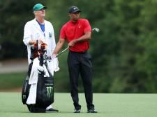 Tiger Woods en caddie aangeklaagd voor duw in 2018